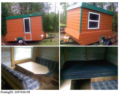 Rebuilt Pop Up Camper