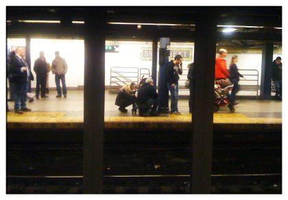 NYC Subway Natural framing