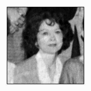 Mrs Linda Beckum - from a Newspaper Clipping of our One Act Play Cast my senior Year