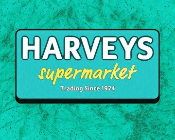 Harvey's Store Sign - Closing Soon